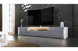 Banc Tv Design : grand banc tv design laqu ~ Teatrodelosmanantiales.com Idées de Décoration