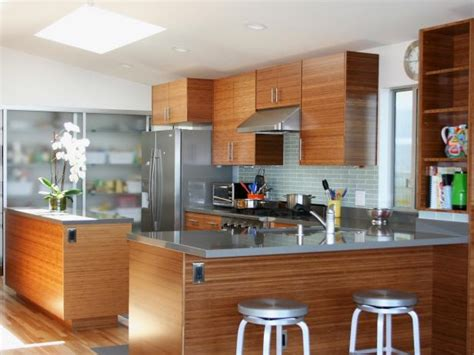 Bamboo Kitchen Cabinets Pictures, Ideas & Tips From Hgtv