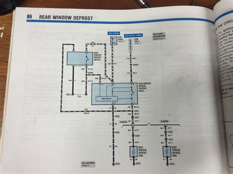 Electrical Rear Defrost Relay Location Mustang Forums