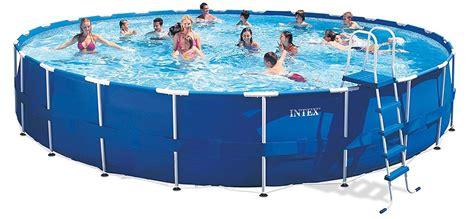 Intex Metal Frame Pool Review  Pools And Tubs