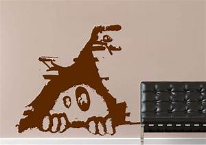 leak street urban wall stickers adhesive wall sticker With urban wall decals