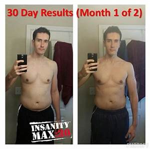 INSANITY Max 30 Results - How I lost 28 pounds in 60 days