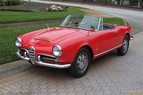 1964 Alfa Romeo Giulia Spider  Sold!!  Vantage Sports Cars