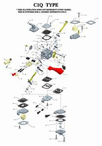 Zama C1q Carburetor Diagram