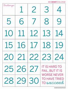 30 day countdown chart calendar template 2016 With countdown chart template