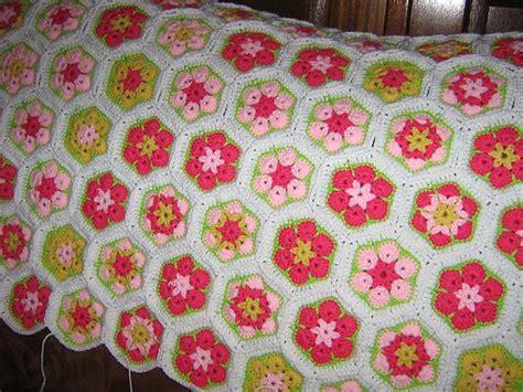 gehaakte bloemen zeshoek deken 167 beste afbeeldingen van crochet african flower love