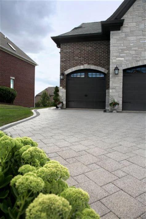 Unilock Driveway - unilock paver driveway with series 3000 photos