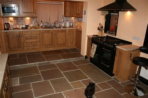 tile flooring in kitchen flooring options kitchen flooring types pros and cons wood 6141