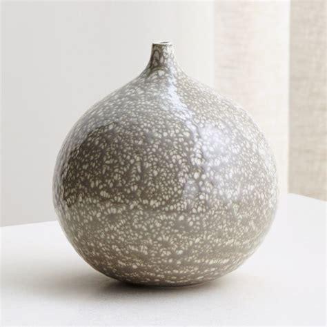 bevin white  grey vase reviews crate  barrel