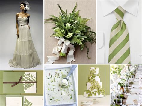 fern themed wedding