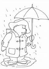 Paddington Coloring Flood Bear Stuck Designlooter Drawings 841px 99kb sketch template