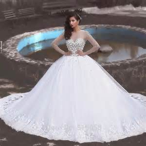 robe pale mariage wedding dress 2016 beaded white organza princess wedding gowns new robe de mariage in