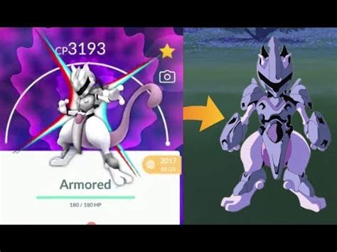 armored mewtwo  pokemon  youtube