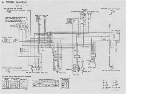 honda ct70 1977 wiring diagram 61685 circuit and wiring diagram
