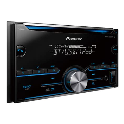 pioneer fh s500bt din cd receiver with improved pioneer arc app compatibility mixtrax