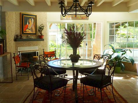 dining room design  southwest style  dining room