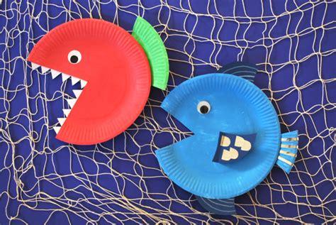 fische basteln kinderspiele weltde