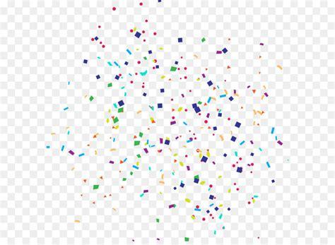 paper confetti party cartoon happy birthday confetti
