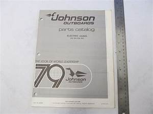 1979 Johnson Electric Outboard Parts Catalog 390085