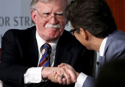 John Bolton and Netanyahu Pictures