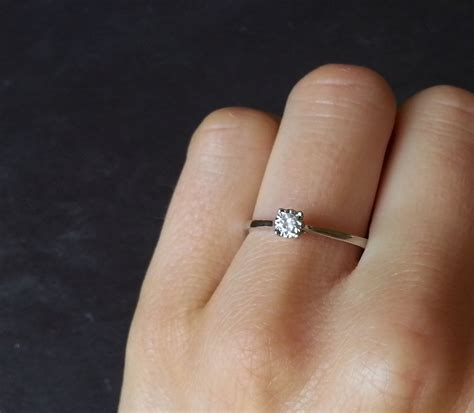 Best Thin Band Engagement Ring Photos 2017  Blue Maize. Wales Engagement Rings. Pillow Rings. Vintage Two Tone Engagement Rings. 4 Stone Engagement Rings. Non Standard Engagement Rings. Baby Wedding Rings. Celebrity Dress Engagement Rings. Modernist Rings