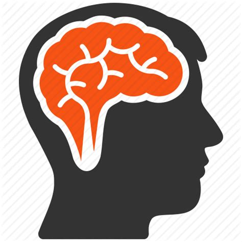 thinking brain png brain idea memory mind think thinking icon