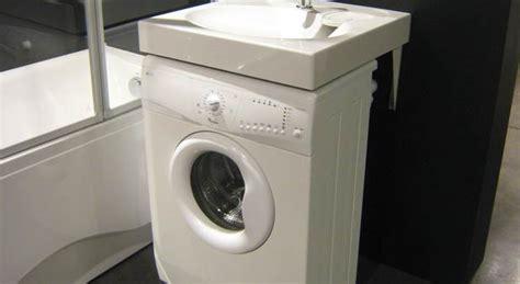 lave linge sous lavabo int 233 grer un lave linge dans la salle de bains