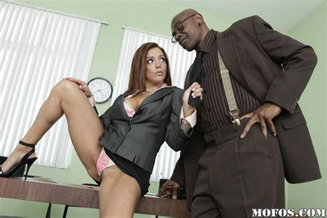 sexy office milf drilled by big black cock pichunter
