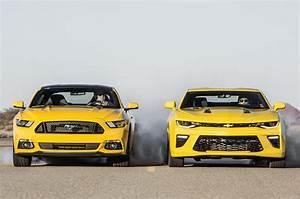 2016 Chevrolet Camaro SS vs. 2016 Ford Mustang GT Head 2 Head Comparison