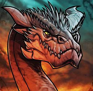 how to draw smaug easy | How to Draw | Pinterest | Dragons