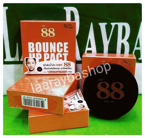 Bedak Ver 88 Original laa rayba shop bedak ver 88 bounce up pact ori thailand