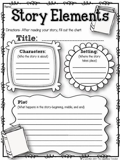 Elements Pdf Story Worksheets Grade Reading 2nd