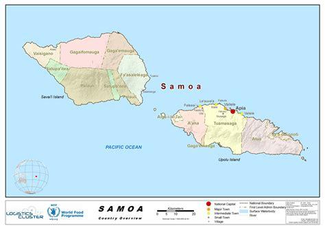 samoa country profile logistics capacity assessment
