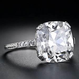 big diamond platinum engagement rings engagement rings depot With big square wedding rings