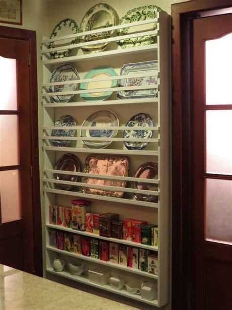fabbys living   wall plate rack