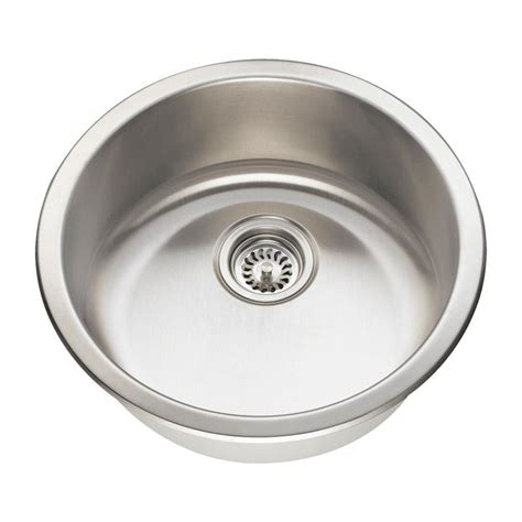brushed steel kitchen sink mr direct all in one undermount stainless steel 20 in 4947