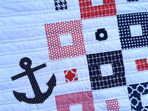 Nautical Mini Quilt Pattern & Giveaway