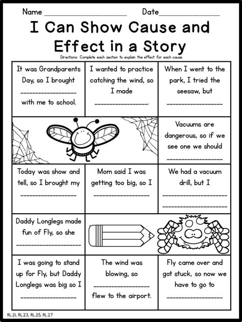 diary of a spider second grade no prep supplemental