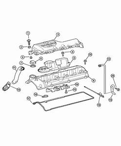 2013 Dodge Journey Cover  Engine  Cylinder  Head  Diesel