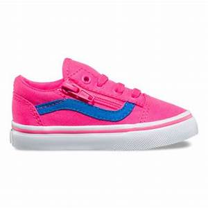Toddler Neon Canvas Old Skool Zip