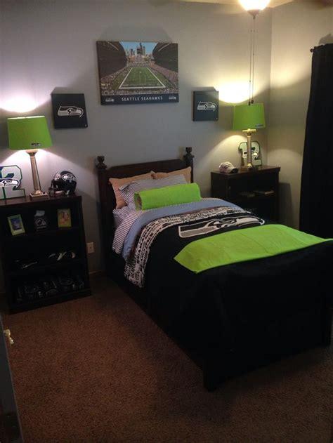 Bedroom With A by Seahawk Bedroom Seahawks Bedroom Boys Room