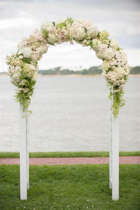 ceremony floral wedding arch  weddbook