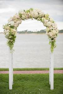 Ceremony Floral Wedding Arch 2042469 Weddbook