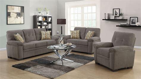 fairbairn oatmeal living room set   coaster