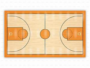 Partes De Una Cancha De Baloncesto Y Fundamentos