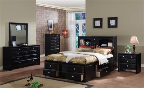 How To Decorate Paint An Elegant Black Bedroom  The Man Cave