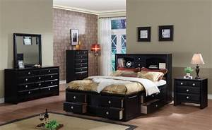 how to decorate paint an elegant black bedroom the man cave With black bedroom furniture decorating ideas