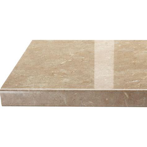 plan de travail droit stratifi 233 granit 233 beige 300 x 65 cm