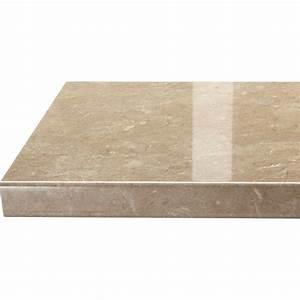 Bleu De Travail Leroy Merlin : plan de travail droit stratifi granit beige 300 x 65 cm p 38 mm leroy merlin ~ Melissatoandfro.com Idées de Décoration