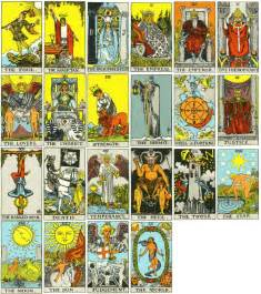 tarot and identity visual culture